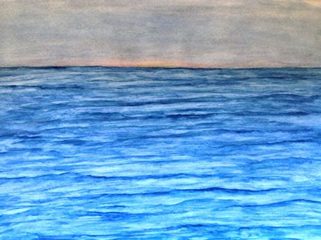 Water and Color on Paper