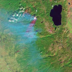 NASA fire