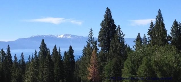Lake Tahoe in June